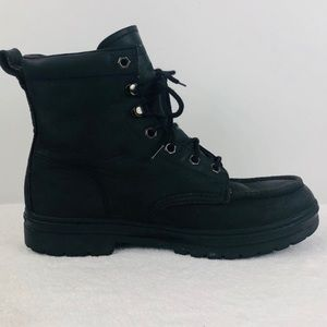 Timberland Black Leather Vintage Style Boots